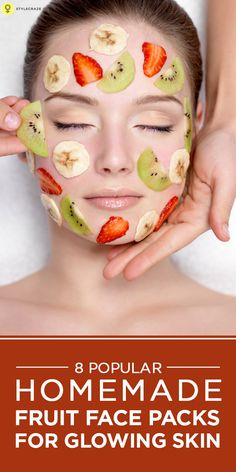 Homemade face pack for glowing skin using fruits is very effective. Our Beauty expert, Namitha shares her secret recipes of 8 popular ...