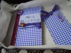 Gift set - notebook and bookmark