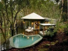 How I would love to have a sanctuary like this....