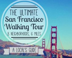 LOCALS TIPS FOR VISITING SAN FRANCISCO  Before you embark on your journey heres a couple of tips from us locals.  Because youre in notoriously chilly San Francisco always bring a jacket even if its sunny (at the moment). It gets cold at promptly 6pm or wherever Karl the Fog is lurking. Yes we named our fog. Hes adorable. Never ever EVER call San Francisco San Fran Frisco or any other cutesy nickname. It makes our ears bleed and we get uncharacteristically pissy about it. If you must use a…
