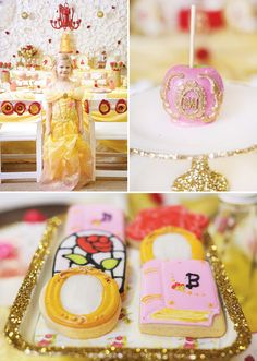 Princess Belle Party Decorations Beauty And The Beast  Princess Belle Royal Ball  Birthday Party