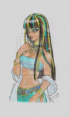 Monster High Cleo by LeyreyDani.deviantart.com on @deviantART