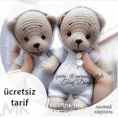 How To Crochet an Amigurumi Rabbit Crochet Baby Hats Free Pattern, Crochet Teddy Bear Pattern, Crochet Kids Hats, Crochet Animal Patterns, Crochet Bear, Kids Patterns, Crochet Patterns Amigurumi, Doll Patterns, Amigurumi Tutorial