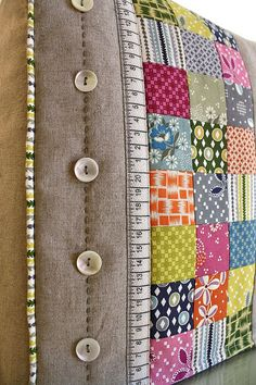 Sewing machine cover - detail by Bloom and Blossom, via Flickr