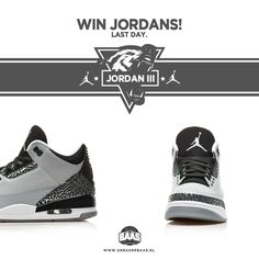 LAST DAY! | WIN JORDANS! | How? Info: https://www.facebook.com/Sneakerbaas/photos/pb.188371987844819.-2207520000.1409570088./922668324415178/?type=3&theater