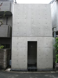 """Tadao Ando biography - """"I believe that the way people live can be directed a little by architecture."""" An outdoorsy child Tadao Ando who spent major chunk of initial years of Tadao Ando, Concrete Architecture, Interior Architecture, Casa Azuma, Concrete Houses, Concrete Wall, Exposed Concrete, Japan Design, Brutalist"""