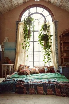 7 Lucky Tips AND Tricks: Natural Home Decor Bedroom Plants natural home decor house living rooms.Natural Home Decor House Living Rooms simple natural home decor inspiration.Natural Home Decor Rustic Beautiful. Dream Rooms, Dream Bedroom, Gypsy Bedroom, Master Bedroom, Bedroom 2018, Cozy Bedroom, Bedroom Inspo, Teen Bedroom, Bedroom Colors