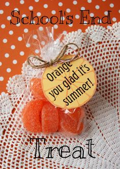 Orange You Glad it's Summer!