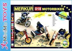 Motocykly. MERKUR 018 Konstrukční Stavebnice 172d. (6279082504) - Aukro - největší obchodní portál