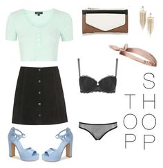 """Untitled #36"" by lily-may-so ❤ liked on Polyvore featuring Topshop, topshop and retro"