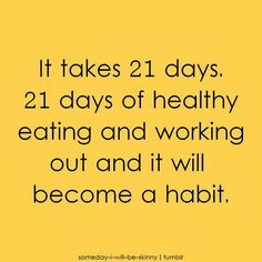 Eating right and exercising is the way to go!
