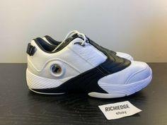 premium selection 45c1c 82cc1 Reebok The Answer V DMX Mid Allen Iverson White Black 2010 Release Size 13    eBay