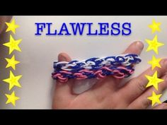 FLAWLESS *Original* Rainbow Loom/Monster Tail Bracelet - How To Rainbow Loom Tutorials, Rainbow Loom Patterns, Loom Bracelet Patterns, Loom Bracelets, Monster Tail Bracelets, Monster Tail Loom, Loom Bands Tutorial, Rubber Band Bracelet, Hey You