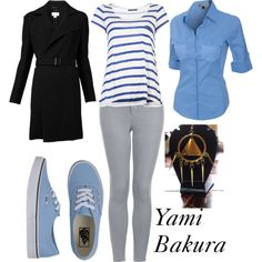"""""""Yami Bakura"""" by winterlake25 on Polyvore I don't care if he's the villain I would like to wear that"""