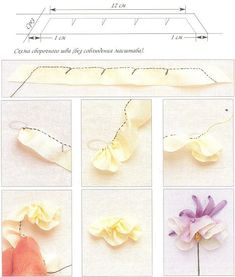 Image - Fleurs en broderie au Ruban - Les créations de Salvina - Skyrock.com