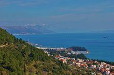 View from Marjan Hill, Split, Croatia