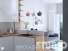 mieszkanie w stylu skandynawskim - zdjęcie od MIKOŁAJSKAstudio