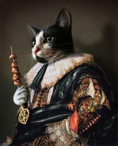 Pet Portraits Animal Welfare League, Christmas Tree Painting, Unique Animals, Buy A Cat, Cat Drawing, Cat Art, Pet Portraits, Dog Cat, Canvas Prints