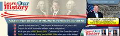 Learn Our History.  Great educational history DVDs for our children.