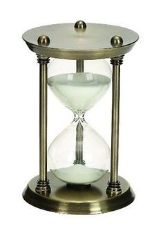 Timers  Minute Nautical Sand Timer Metal Hour Gl9 Inch