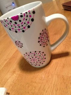 Customize creative mug with your creative design.