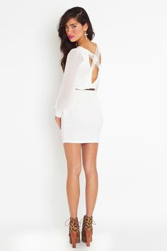 seen this dress somewhere on pinterest before - love it in white!
