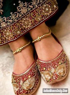 12 Best Indian Bridal Shoes Images Bridal Shoes Indian Bridal