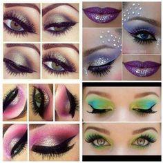 Ways to do ur eyes up