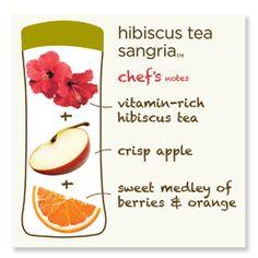 Hibiscus tea sangria from Argo