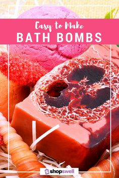 Super easy, affordable, and fun DIY beauty, bath bombs.