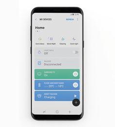 삼성 커넥트 앱(Samsung Connect App) 정보 - 쵸코초코의 그냥저냥 Web Design, App Ui Design, Android App Design, Android Ui, Mobile Application Design, Mobile Ui Design, Card Ui, App Design Inspiration, Ui Web