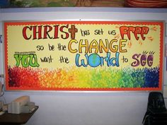 Creative Church Bulletin Boards   visit craftster org