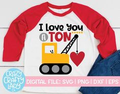 Valentines For Boys, Valentines Day Shirts, Valentine Ideas, Love Machine, Heart Shirt, Shirts With Sayings, Svg Cuts, Make And Sell, Kids Shirts