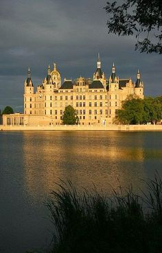 Schwerin Palace - Right After The Rain, Germany