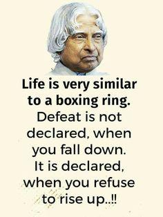 Abdul Kalam Quotations at QuoteTab Apj Quotes, Real Life Quotes, Reality Quotes, Quotable Quotes, Words Quotes, Motivational Quotes, Sport Quotes, Lesson Quotes, Sayings