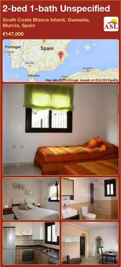 2-bed 1-bath Unspecified in South Costa Blanca   Inland, Quesada, Murcia, Spain ►€147,000 #PropertyForSaleInSpain