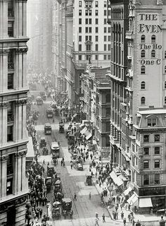 NYC. Manhattan 1910