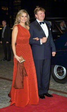 HM King Willem-Alexander of the Netherlands and HM Queen Máxima of the Netherlands are on a state visit in Denmark from 17th -19th March 2015. Wednesday night, March 18th,