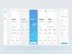 Deskman. Support Ticketing System. Card View.