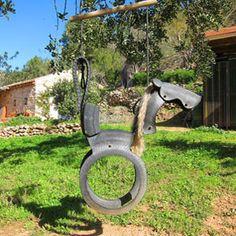 Caballito neumático, Can Martí - Agroturismo Ecológico Ibiza