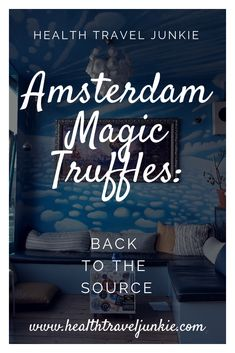 Magic Truffles Amsterdam: Back to the Source. How does it feel going back to the source? Read this report about my experience tripping on psychedelic magic truffles in the heart of one of the most touristic cities in the world: Amsterdam. #magictruffles #kokopellismartshop #healthtraveljunkie #wellnesstravel #psychedelics #magicmushrooms