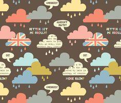 rainy london clouds  fabric by amel24 on Spoonflower - custom fabric
