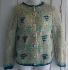 Early 1960s mohair sweater