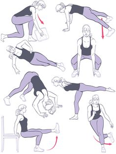 The 10-Minute Workout  http://www.redbookmag.com/health-wellness/advice/10-minute-workout