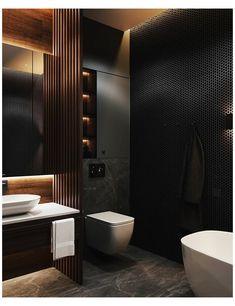 Contemporary Bathroom Designs, Bathroom Design Luxury, Modern Bathroom Design, Bedroom Modern, Contemporary Bathroom Inspiration, Loft Bathroom, Bathroom Goals, Bathroom Stand, Bathroom Bath