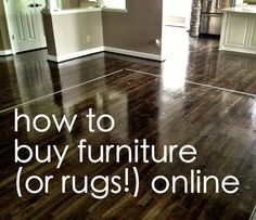 How to buy furniture online & make sure it fits!