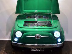 Smeg Fiat 500: a falta de una recreativa, bueno será un frigorífico
