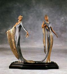 ERTE. Sculpture. Duetto