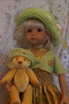 "Effner 13"" Little Darling *BEARY AUTUMN* Ensemble by Ladybugs Doll Designs OOAK"
