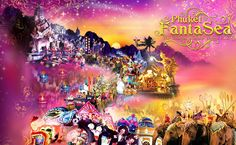 Phuket FantaSea Show(Gold seat) and Buffet Dinner+Transfer round trip   Phuket FantaSea is a Thai cultural theme park - the world's first entertainment park that presents Thai Culture and Tradition as its main theme.